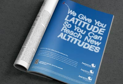 Recruitment marketing campaign, featuring several different print ads.